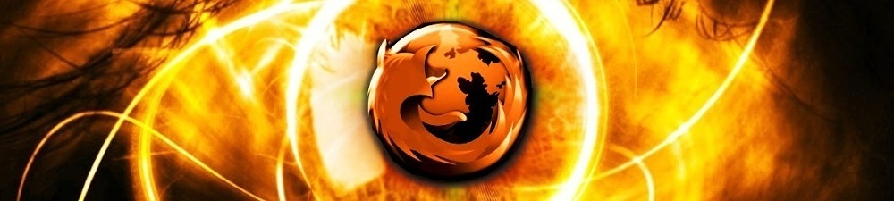 Firefox logo wallpaper