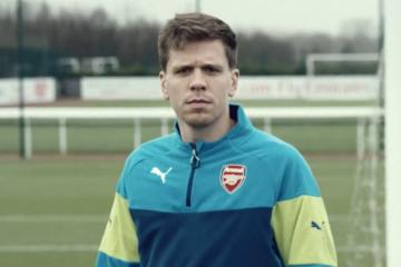 Szczęsny w świątecznym wideo Arsenalu (WIDEO)