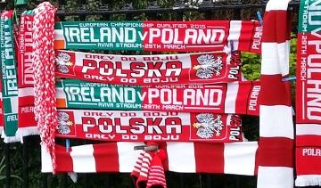 Mecz Irlandia - Polska. Pod obiektem Aviva Stadium na razie cisza przed burzą [GALERIA]