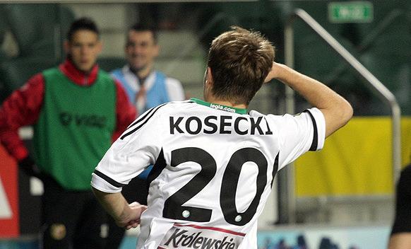 Piłkarskiego fachu w Akademii Legii uczył się m.in. Kuba Kosecki