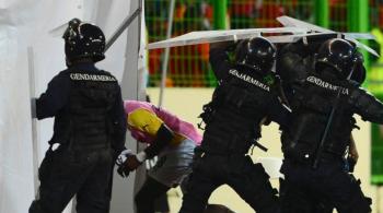 Zamieszki przerwały półfinał PNA. Policja musiała użyć gazu łzawiącego (WIDEO)