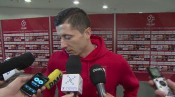 Lewandowski: Nie ma znaczenia z kim gramy w meczach towarzyskich (WIDEO)