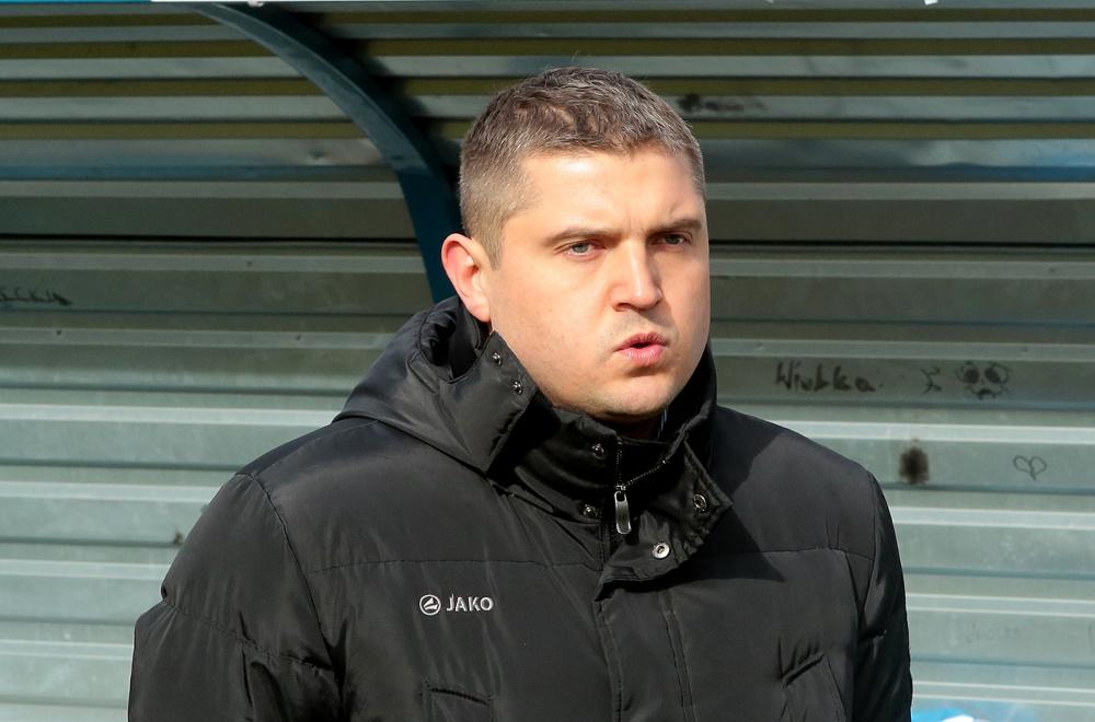 Trener Błękitnych po meczu z Termalicą: Wygraliśmy z Ekstraklasą, no ludzie! (ROZMOWA)