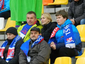 Kibice na meczu Podbeskidzie Bielsko-Biała - Legia Warszawa [GALERIA]