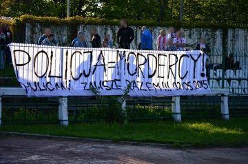 Młodzi kibice ŁKS zareagowali na wydarzenia w Knurowie