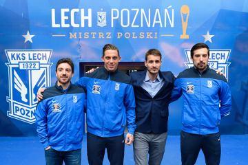 Lech Poznań oficjalnie zaprezentował nowych piłkarzy [ZDJĘCIA]