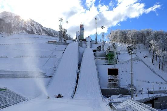 Skocznie olimpijskie w Krasnej Polanie