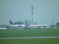 Samolot LOT-u na lubelskim lotnisku (FOTO)