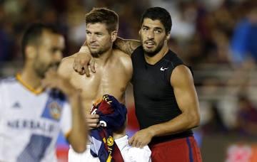 Suarez i Gerrard znów razem na murawie, FC Barcelona lepsza od LA Galaxy