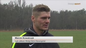 Marcin Kowalczyk uciekł z Rosji. Aktualnie trenuje z Dolcanem Ząbki (WIDEO)