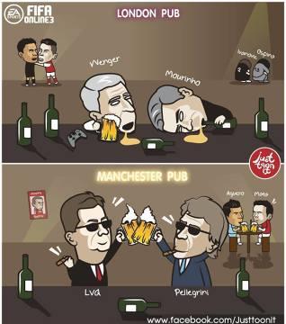 Memy po środowych meczach Ligi Mistrzów: W Londynie piją na smutno, w Manchesterze na wesoło [GALERIA]
