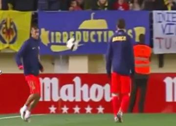 Taka tam rozgrzewka-żonglerka Neymara i Messiego (WIDEO)