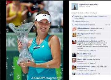 Agnieszka Radwańska: tenis - finał gry pojedynczej kobiet (4 sierpnia)