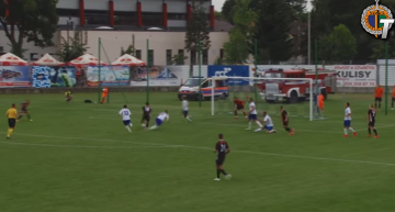 Skrót meczu MKS Kluczbork - Chrobry Głogów 0:2 (WIDEO)