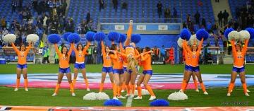 Cheerleaderki z Kolejorz Girls na meczu Lech - Legia (GALERIA)