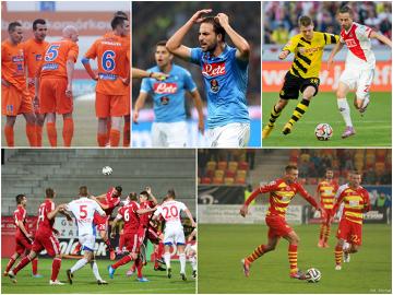 Najważniejsze piłkarskie wydarzenia weekendu (GALERIA)