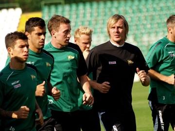 Pierwszy trening Milosa Krasicia z Lechią (GALERIA)