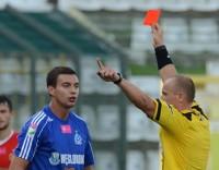 Maciej Sadlok szybko obejrzał czerwoną kartkę