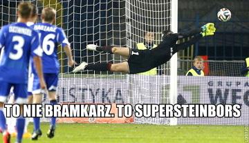 Memy po meczach 11. kolejki Ekstraklasy: Grawitacja za mocna dla Kuciaka (GALERIA)