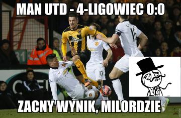 """""""Zacny wynik, milordzie!"""". Man Utd """"podarował"""" 4-ligowcowi roczny dochód! (MEMY)"""