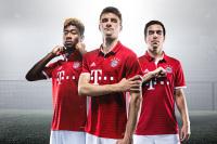 Czerwień i biel: Tak prezentują się nowe koszulki Bayernu Monachium