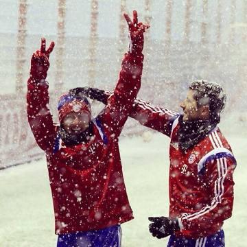W Monachium śnieżnie. Już w piątek Bayern gra z Wolfsburgiem