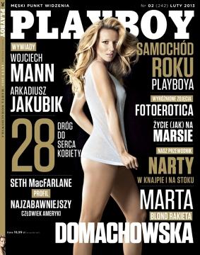 Marta Domachowska rozebrała się dla Playboya