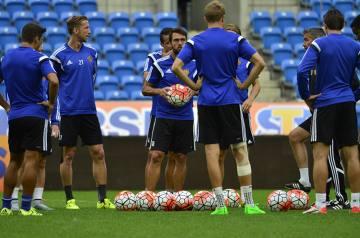 Piłkarze FC Basel trenowali w Poznaniu przed meczem z Lechem (GALERIA)