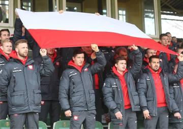 Lewandowski i spółka na meczu Polska - Słowacja U-12 i U-13