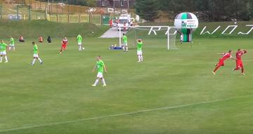 Skrót meczu Rozwój Katowice - Zagłębie Sosnowiec 0:1 [WIDEO]