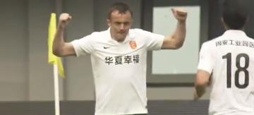 Pierwszy gol Radovicia w lidze chińskiej (WIDEO)
