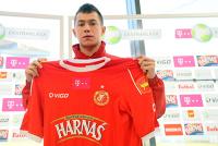 Mariusz Rybicki od grudnia jest zawodnikiem Widzewa