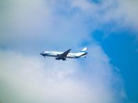 Samoloty nad Lublinem. Zobacz zdjęcia zrobione przez internautów
