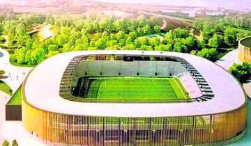 Nowy obiekt Zagłębia Sosnowiec jak Stadion Narodowy i stadion Legii