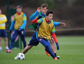 Krystian Bielik trenował z Arsenalem (ZDJĘCIA)