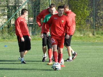GKS Tychy trenuje przed ostatnimi meczami w tym roku (GALERIA)