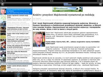 Gazeta Krakowska na iPada