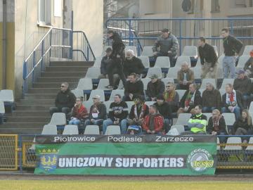 4 liga. Kibice na meczu Iskra Pszczyna - Podlesianka Katowice 1:0 (GALERIA)