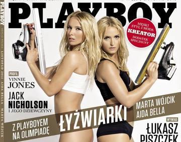 Aida Bella i Marta Wójcik: rozebrały się w Playboyu, nie pojadą na igrzyska? (ZDJĘCIA, WIDEO)
