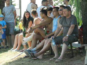 Kibice na meczach sparingowych Rozwoju w Wilamowicach (GALERIA)