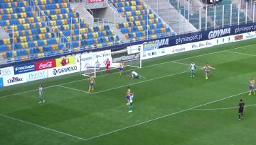 Skrót meczu Arka Gdynia - Olimpia Grudziądz 0:2 (WIDEO)