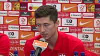 """Lewandowski kapitanem. """"To, że strzelam mało goli w kadrze to dla mnie ciężki temat"""""""