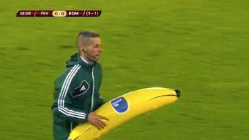 Kolejny przejaw rasizmu - tym razem podczas meczu Feyenoord - Roma. Jaka kara czeka Holendrów?