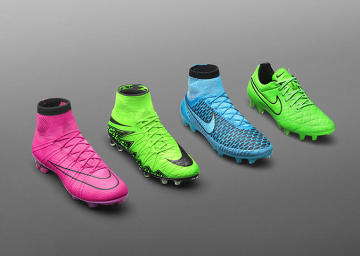 """""""Piorunujące"""" modele butów piłkarskich. W tych korkach będzie grał Neymar (GALERIA)"""