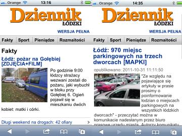 Dziennik Łódzki w wersji lite
