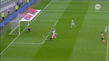 Skrót meczu Lechia Gdańsk - Juventus Turyn 1:2 (WIDEO)