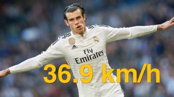 Bale nie ma sobie równych, CR7 lepszy od Messiego. Ranking najszybszych piłkarzy świata (WIDEO)