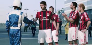 Kapitalna reklama z udziałem piłkarzy Milanu (WIDEO)