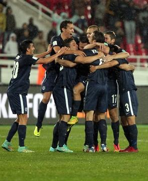 KMŚ 2014: Auckland i Cruz Azul w półfinale (ZDJĘCIA)