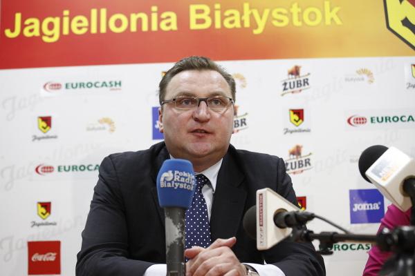 Czesław Michniewicz nie jest już trenerem Jagiellonii